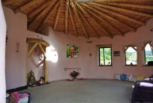 Always warm and welcoming ty mam mawr straw bale roundhouse