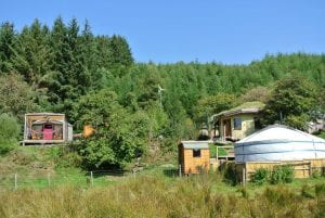 Intimate off grid eco retreat centre high in the berwyn mountains deep in cynwyd forest 2