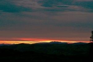 Sunset over arenig vawr