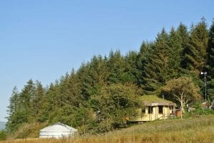 Ty mam mawr off grid eco retreat centre straw bale round house and mongolian yurt in dee valley berwyn mountains north wales