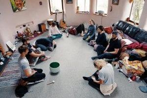 Breathwork and shamanic healing retreat at ty mam mawr