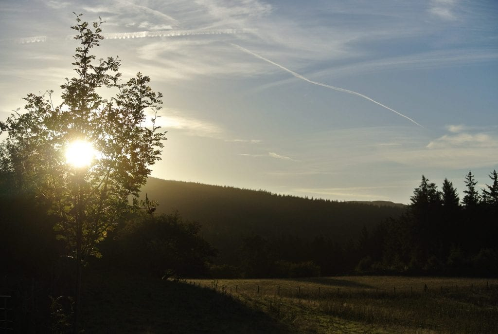 Sunrise off grid sustainable eco glampsite and glamping