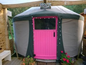 Ty crwn bach idris yurt 1 off grid sustainable eco glampsite and glamping