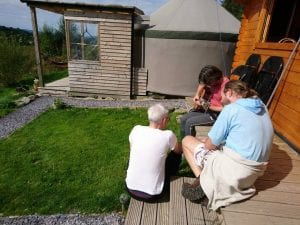 Ty crwn bach idris yurt 11 off grid sustainable eco glampsite and glamping