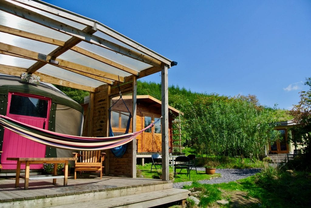 Ty crwn bach idris yurt 12 off grid sustainable eco glampsite and glamping