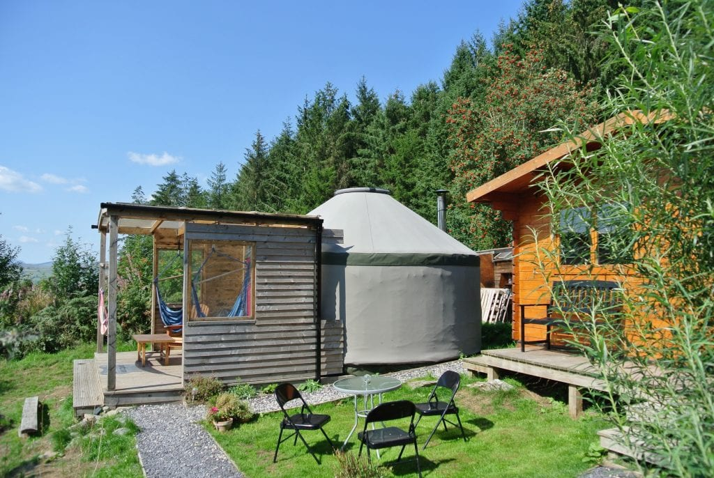 Ty crwn bach idris yurt 17 off grid sustainable eco glampsite and glamping