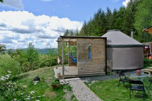 Ty crwn bach idris yurt 19 off grid sustainable eco glampsite and glamping