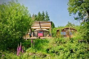 Ty crwn bach idris yurt 22 off grid sustainable eco glampsite and glamping