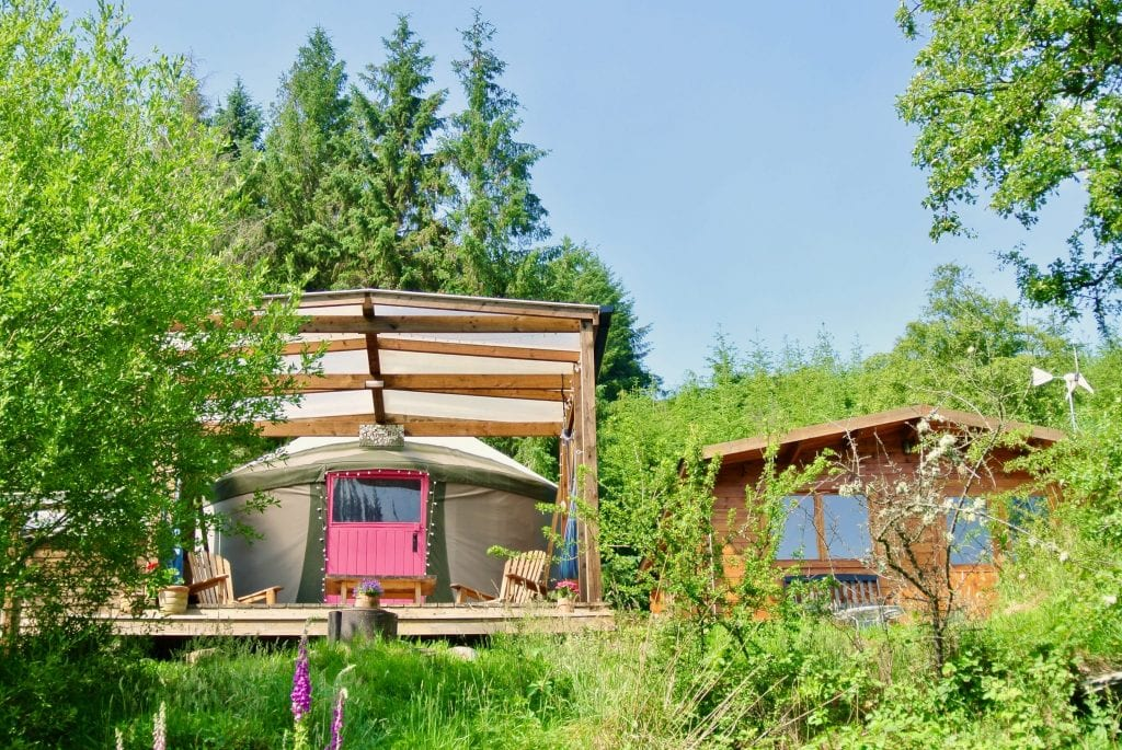 Ty crwn bach idris yurt 23 off grid sustainable eco glampsite and glamping