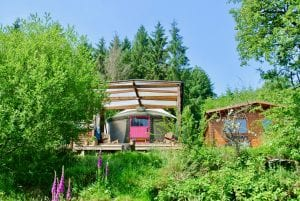Ty crwn bach idris yurt 24 off grid sustainable eco glampsite and glamping