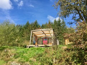 Ty crwn bach idris yurt 28 off grid sustainable eco glampsite and glamping