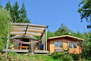 Ty crwn bach idris yurt 29 off grid sustainable eco glampsite and glamping