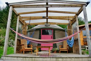 Ty crwn bach idris yurt 3 off grid sustainable eco glampsite and glamping