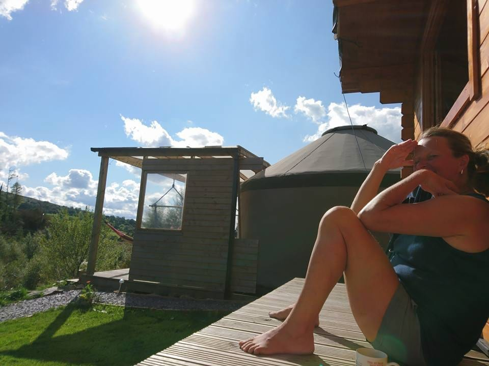 Ty crwn bach idris yurt 30 off grid sustainable eco glampsite and glamping