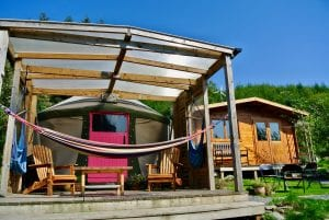 Ty Crwn Bach Idris Yurt (9) Off Grid Sustainable Eco Glampsite And Glamping