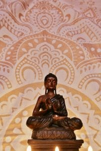 Ty crwn mawr yurt buddha 2 off grid sustainable eco glampsite and glamping