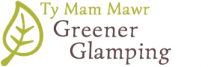 Gg logo v5 370x120 retina two lines text white background greener glamping logo and header